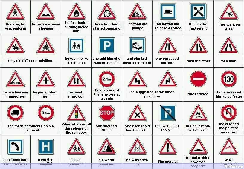 Road Signs - Misc