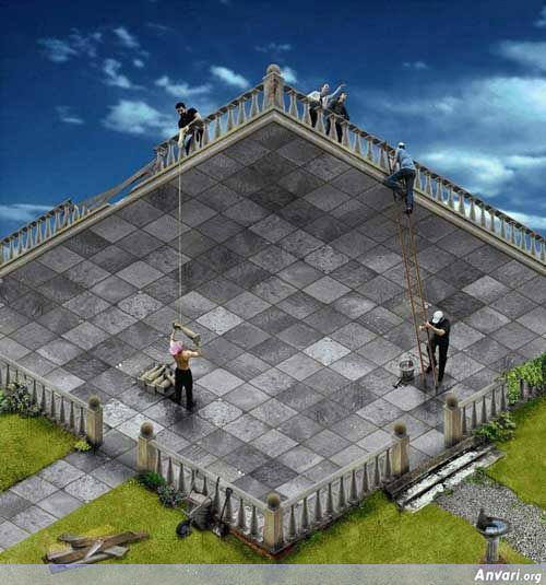 Workers - Optical Illusions