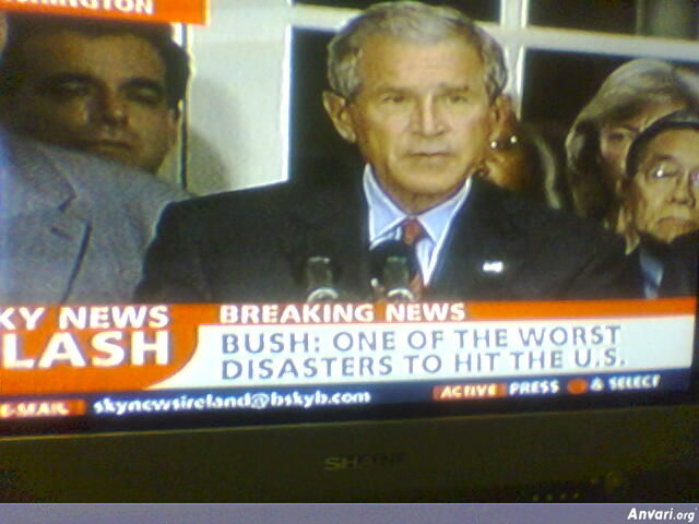 Bush is the Worst Disaster - Political