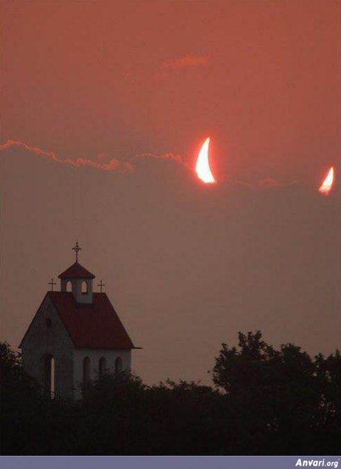 satan chasing nuns