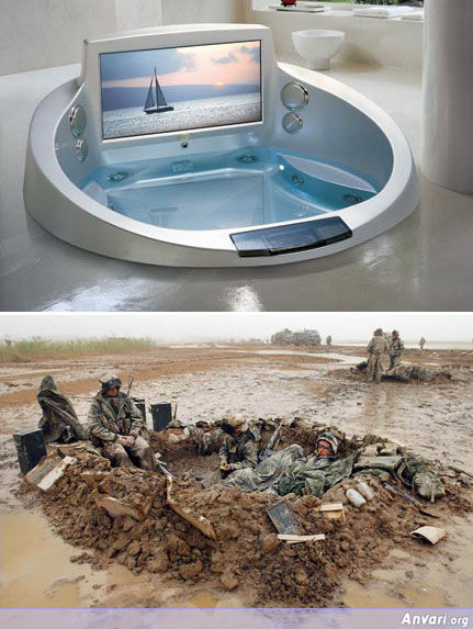 Jacuzzi in America and Iraq - World Trade Center