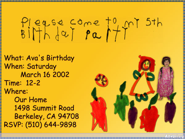 Ava Birthday Card - Ava Birthday Card